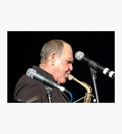 Bernie McGann @ Jazz & Blues Festival 2009 Photographic Print