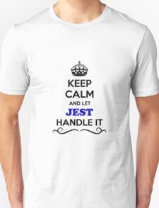 Keep Calm and Let JEST Handle it T-Shirt