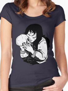 SKULL X GIRL Women's Fitted Scoop T-Shirt