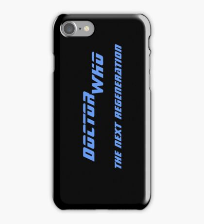 Doctor Who - The Next Regeneration iPhone Case/Skin