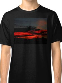 Sand Red Clouds Classic T-Shirt