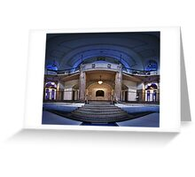 Volksbad Greeting Card