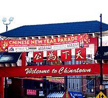 Chinatown Gate (Chicago) by William Dyckman