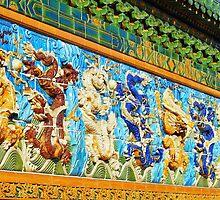 Nine Dragon Wall (Chicago) by William Dyckman