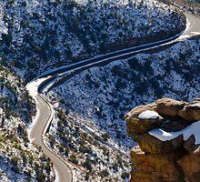 Lonely road by Chris Heising