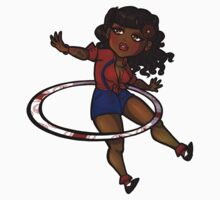 Rockabilly Hula Hoop Girl by roryseviltwin