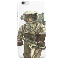 Space Cat with Saxophone iPhone Case/Skin