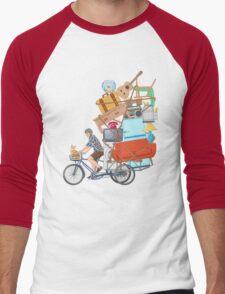 Life on the Move Men's Baseball ¾ T-Shirt