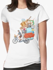 Life on the Move Womens Fitted T-Shirt
