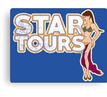 A Tour Around The Stars Canvas Print