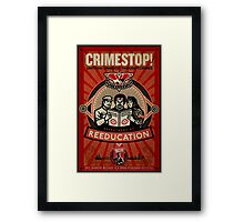 INGSOC 1984 Thoughtcrime Framed Print