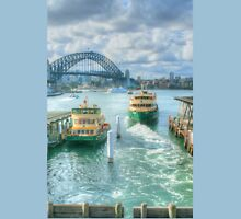 Sydney Harbour from Circular Quay ... HDR Unisex T-Shirt