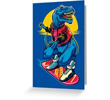 Rex to the Future Greeting Card