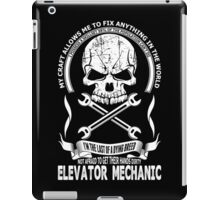 Elevator Mechanic iPad Case/Skin