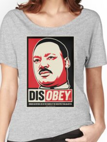 Martin Luther King Civil Disobedience Shirts Women's Relaxed Fit T-Shirt