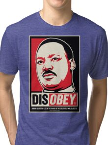 Martin Luther King Civil Disobedience Shirts Tri-blend T-Shirt