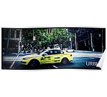 URBIA - Taxi Poster