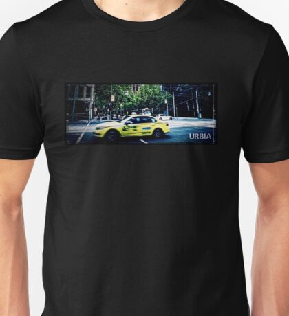 URBIA - Taxi Unisex T-Shirt