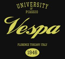 VESPA UNIVERSITY by madeofthoughts