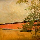 Langley Covered Bridge by enchantedImages
