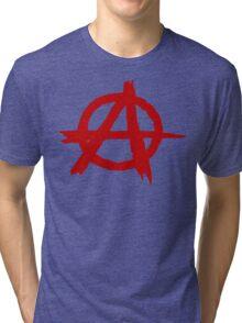 Anarchy Symbol T Shirt Tri-blend T-Shirt