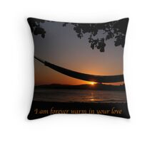 Forever Warm - Sunset Throw Pillow