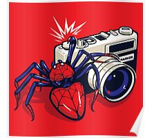 Spider Shot Poster