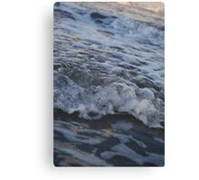 Waves from a bugs POV Canvas Print
