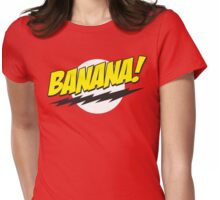 Banana! Lightning Logo T Shirt Womens Fitted T-Shirt
