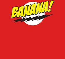 Banana! Lightning Logo T Shirt Womens Fitted T-Shirt