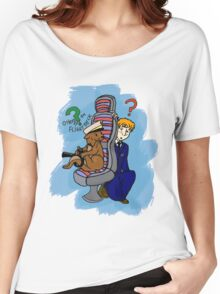 Otters on the Flight Deck Women's Relaxed Fit T-Shirt