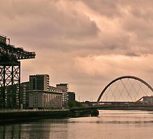 Finnieston Crane and Squinty Bridge by ElsT