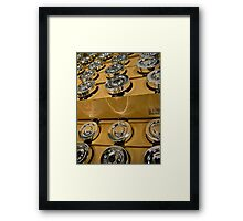 look ... shiny things! Framed Print