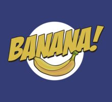 Banana Logo T Shirt by bitsnbobs