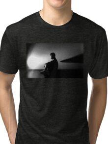 Alien Contemplation  Tri-blend T-Shirt