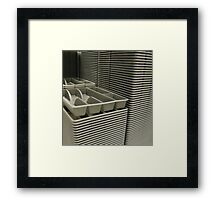 well stacked Framed Print