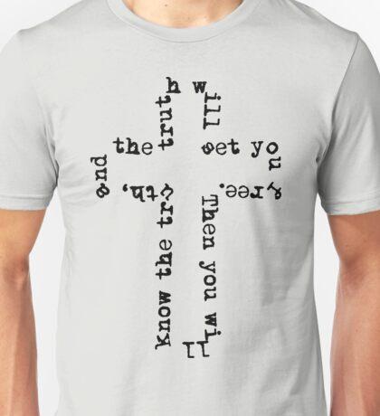Truth Cross Unisex T-Shirt