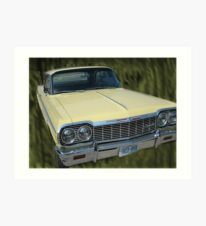 The car Collection;...chevrolet!... Art Print