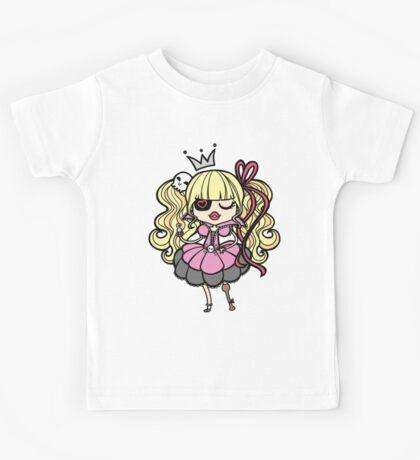 Princess Pirate - Pink Kids Tee