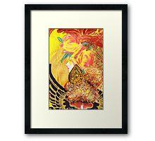 Gilded Wings Framed Print