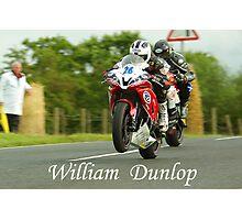 William Dunlop Photographic Print