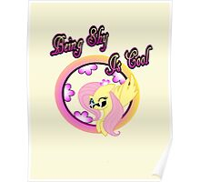 Cool Shy Fluttershy 2 Poster