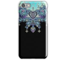 Jeweled Fractal Celtic Heart iPhone Case/Skin