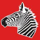 Zebra Head by KimberlyMarie