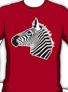 Zebra Head T-Shirt