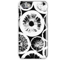 Citrus Black And White iPhone Case/Skin