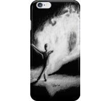 Fire Walking SlenderMan iPhone Case/Skin