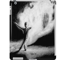 Fire Walking SlenderMan iPad Case/Skin