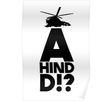 A Hind D!? Poster