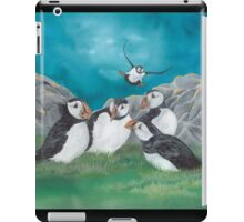 """""""Puffin Party"""" iPad Case/Skin"""